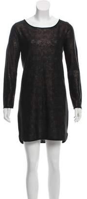 Comptoir des Cotonniers Brocade Mini Dress