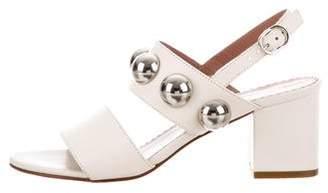 RED Valentino Embellished Ankle Strap Sandals