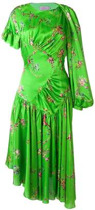 Preen by Thornton Bregazzi floral flared dress