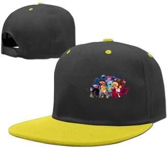 Sesame Street JAC8I Caps Kids Hiphop Baseball Cap Boys Girls Hat Adjustable