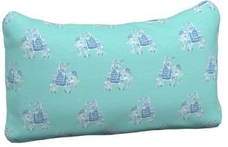 Pottery Barn Kids Lilly Pulitzer Lumbar Pillow, Bazaar Shorely Blue (E)