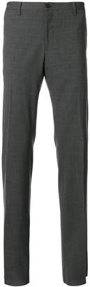 Versace elasticated detail tailored trousers