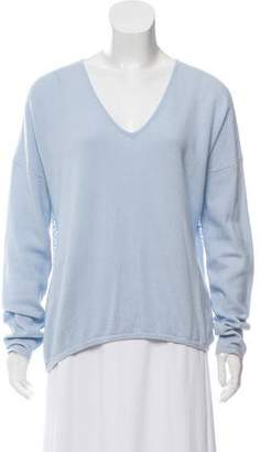 Allude Cashmere Long Sleeve Sweater