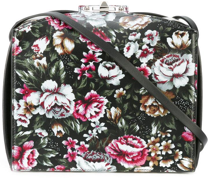 Alexander McQueenAlexander McQueen floral print shoulder bag
