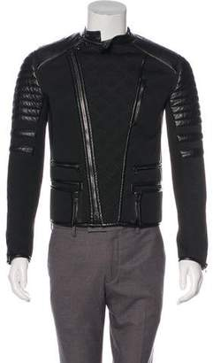 3.1 Phillip Lim Leather-Accented Jacket