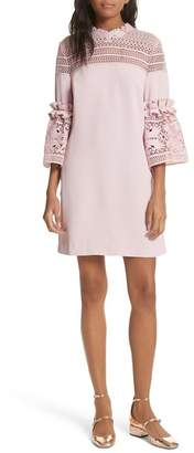 Ted Baker Lace 3/4 Bell Sleeve Dress