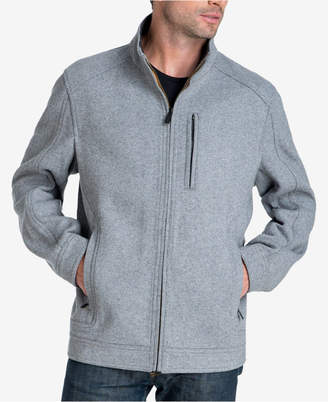 London Fog Men's Herita Stretch Wool Jacket