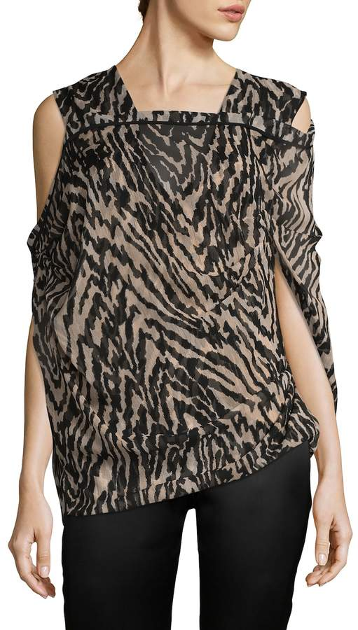 Tom Ford Women's Silk Printed Blouse