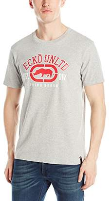 Ecko Unlimited Unltd. Men's The Rhino Remains Short Sleeve Printed T-Shirt