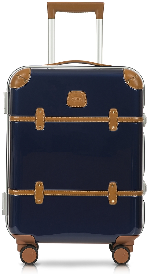 Bric's Bellagio Metallo V2.0 21′′ Blue Carry-On Spinner Trunk