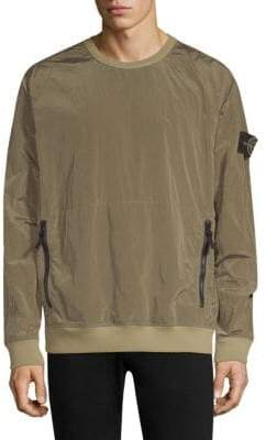 Stone Island Nylon Zip Pullover