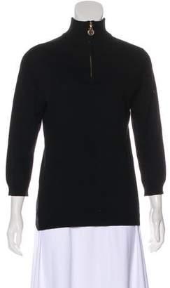 Tory Burch Cashmere Knit Sweatshirt