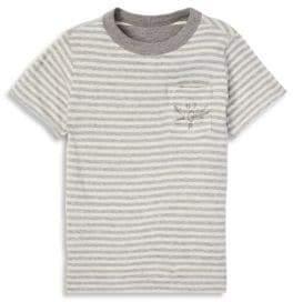 Ralph Lauren Little Boy's& Boy's Reverse Striped Tee