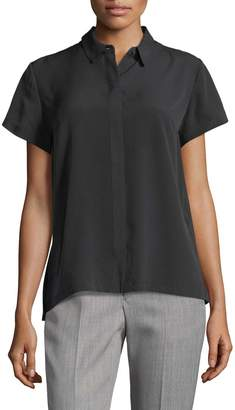 French Connection Women's Classic Crepe Shirt