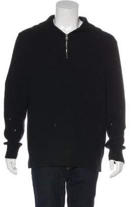 AllSaints Ivann Funnel Oversized Fit Sweater