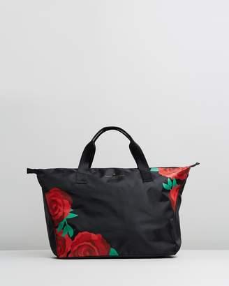 Johnny Loves Rosie Rose Printed Weekend Bag