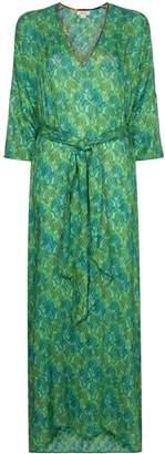 Chufy Tarabel abstract-print maxi dress