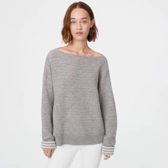 Club Monaco Donah Striped Cashmere Sweater