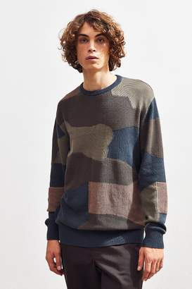 Barney Cools Camo Crew-Neck Sweater