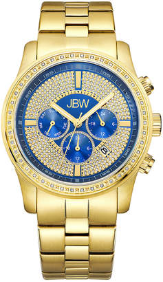 JBW Men's Vanquish Diamond & Crystal Watch