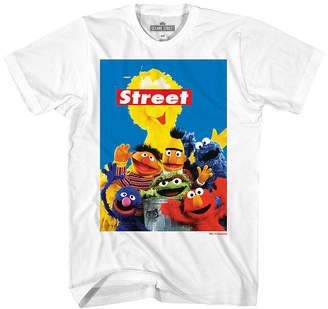 Sesame Street Novelty T-Shirts Mens Graphic T-Shirt