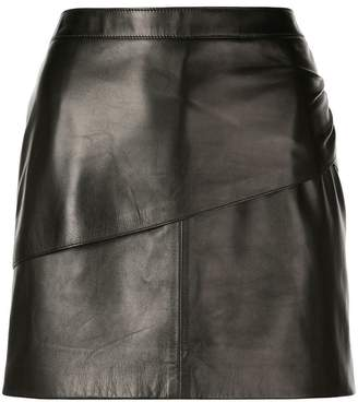 Givenchy mini leather skirt