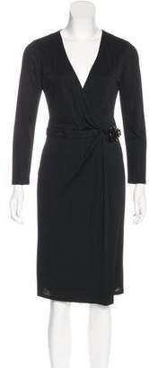 Gucci Long Sleeve Wrap Dress w/ Tags
