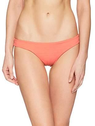 Eco Swim by Aqua Green Women's Mojave Cheeky Bikini Bottom