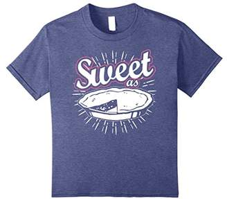 Fun Sweet as Pie T-Shirt. Baking Cooking Kitchen Home