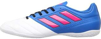 adidas Mens ACE 17.4 IN Football Boots Blue/Shock Pink/White