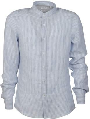 Brunello Cucinelli Mandarin Collar Shirt