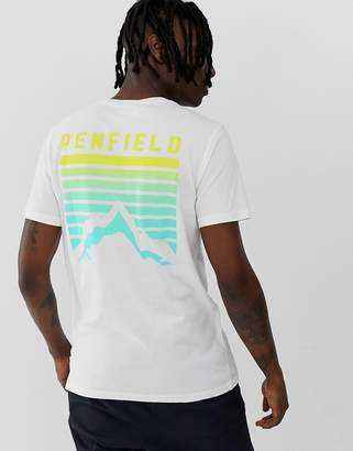 Penfield Caputo back print t-shirt in white