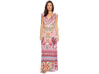 Hale Bob Simply Irresistible Matte Microfiber Jersey Maxi Dress Women's Dress