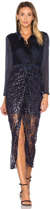 SALONI Yana Dress $695 thestylecure.com