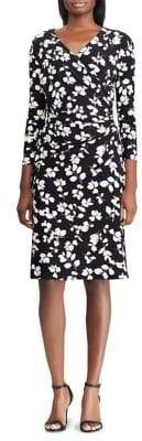 Lauren Ralph Lauren Floral Jersey Fit-&-Flare Dress