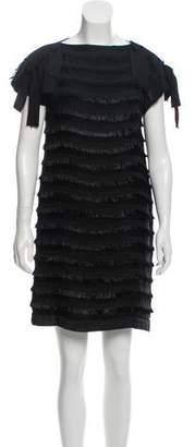 Behnaz Sarafpour Mini Fringed Dress
