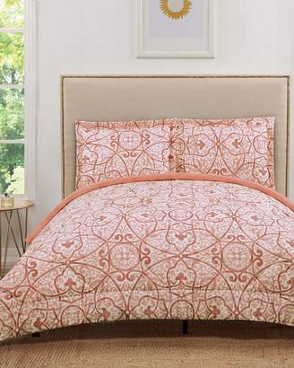 Truly Soft Marcello Coral Comforter Set