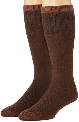 Dickies Mens 2-Pk. Cotton Thermal Boot Crew Socks