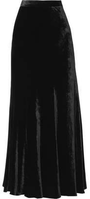 Etro Velvet Midi Skirt - Black