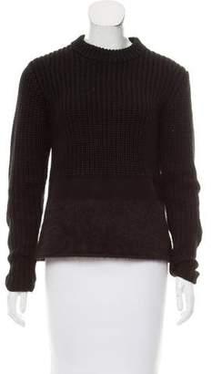 Neil Barrett Contrasted Long Sleeve Sweater