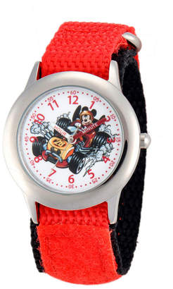 DISNEY MICKEY MOUSE Disney Mickey Mouse Boys Red Strap Watch-Wds000184