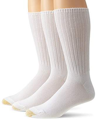 Gold Toe Men's Cotton Fluffies Casual Sock