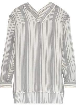 Jil Sander Striped Silk Tunic