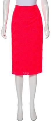 A.L.C. Lace Knee-Length Pencil Skirt
