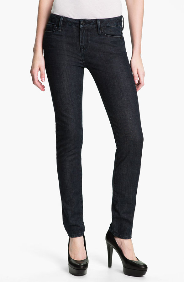 Vince Stretch Skinny Jeans (Dark Vintage)
