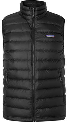Patagonia Quilted Dwr-Coated Ripstop Down Gilet