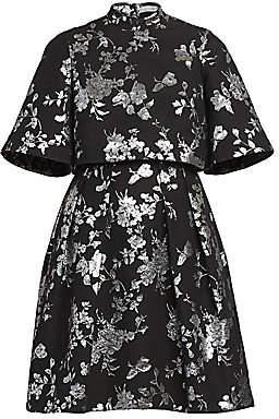 Erdem Women's Favilla Lurex Rose Jacquard Dress