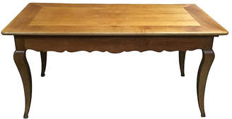 One Kings Lane Vintage French Cherry Farm Table - Chez Marie Antiques