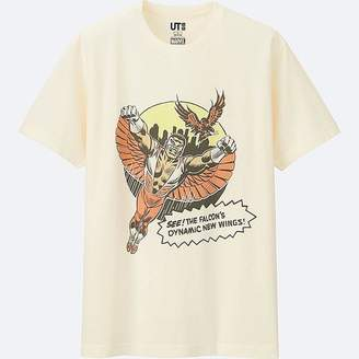 UNIQLO Men's Marvel Collection Short Sleeve Graphic T-Shirt $14.90 thestylecure.com