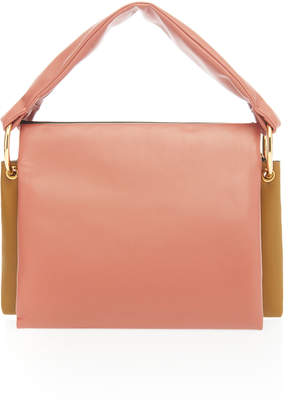 Marni Beat Tricolor Leather Bag